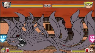 Obito Uchiha vs Sasuke(Susanoo), Pain and Kakashi | Bleach vs Naruto 2.6