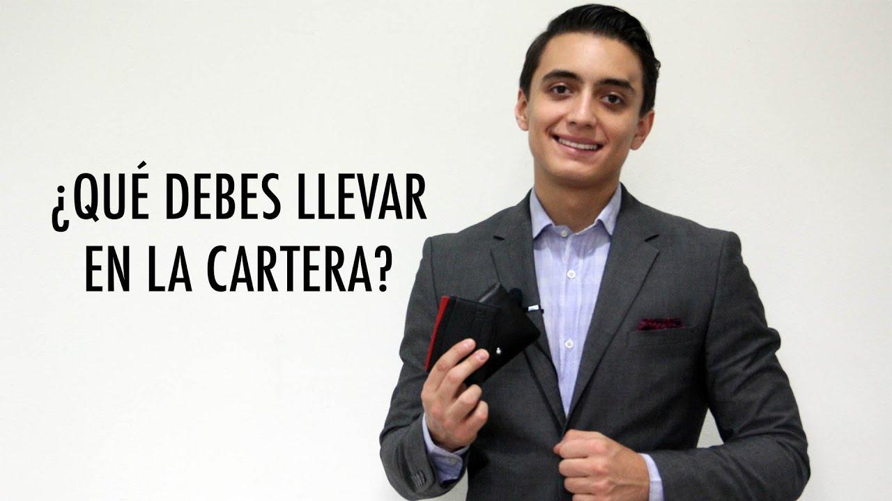 323daadbe Qué debes llevar en la cartera? | Humberto Gutiérrez - YouTube