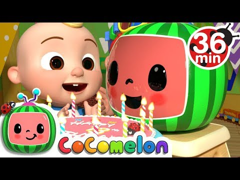 CoComelon's 13th Birthday + More Nursery Rhymes & Kids Songs