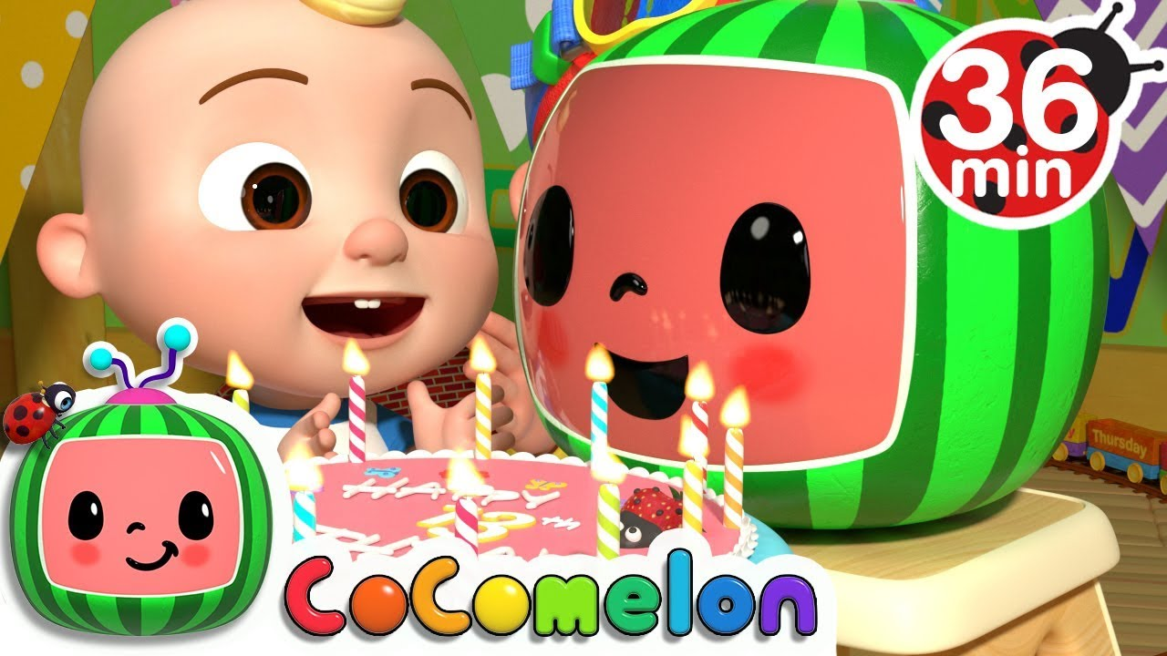 Cocomelons 13th Birthday + More Nursery Rhymes & Kids Songs - CoCoMelon