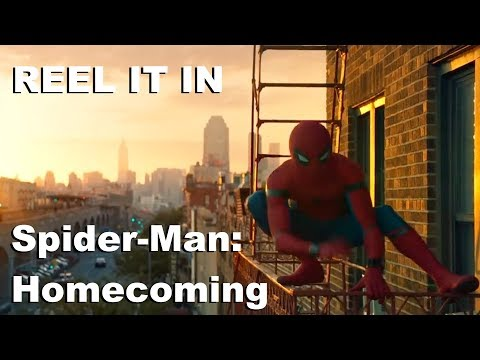 SPIDERMAN: HOMECOMING Movie  REEL IT IN