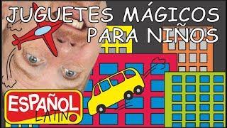 Juguetes Mágicos | Aprende con Steve and Maggie Español Latino | Canciones para Niños