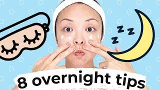 8 Beauty Tips That Work Hard OVERNIGHT!