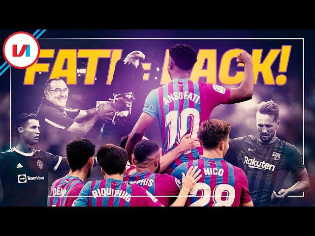 LIVE: Magie Terug In Camp Nou Door Fati & Ronaldo Of Fernandes De Baas?
