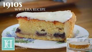 Tarte A L'Allemande Aux Cerises (German Cherry Tart) ◆ 1910s / WW1 Era Recipe