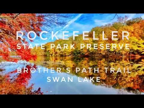 🍁One of The Most Beautiful Parks in New York Rockefeller State Park Preserve in Autumn Color Leaves