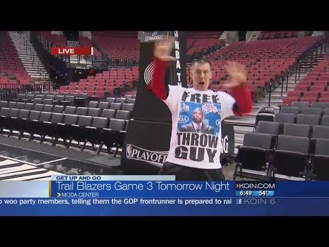 Moda Center is ready to host NBA playoff game 3