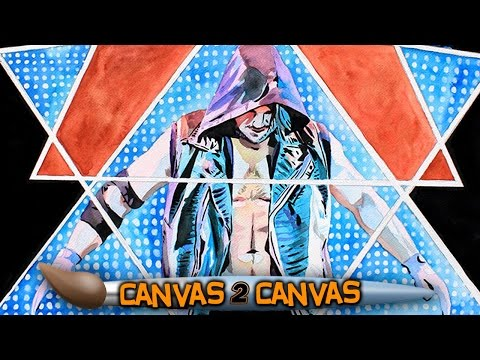 The Phenomenal One debuts on the canvas: WWE Canvas 2 Canvas
