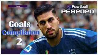 Pes 2020 - Realistic Gameplay Compilation #1 Goals,Skills & GoalKeeper Saves- PS4 HD