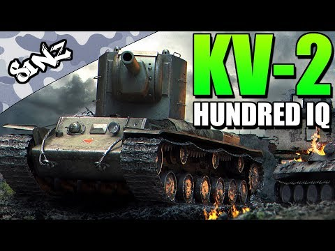 KV-200IQ (INSANE BLIND SHOT KILL!)  - World of Tanks Console | KV-2 Gameplay thumbnail
