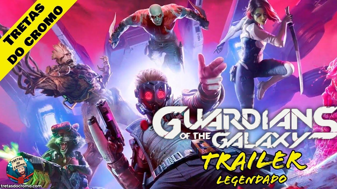 Marvel's Guardians of the Galaxy: Primeiro trailer do novo jogo da Square Enix