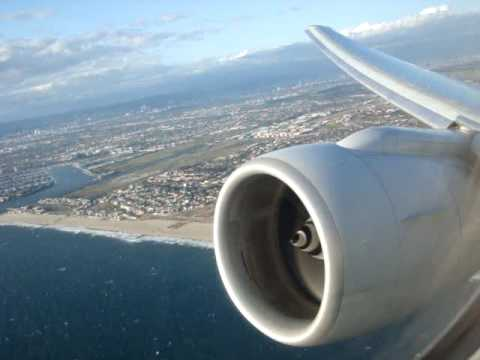 777 Boeing AA Takeoff  take off- SPEAKERS ON MAX - LAX to LHR -  THE BEST