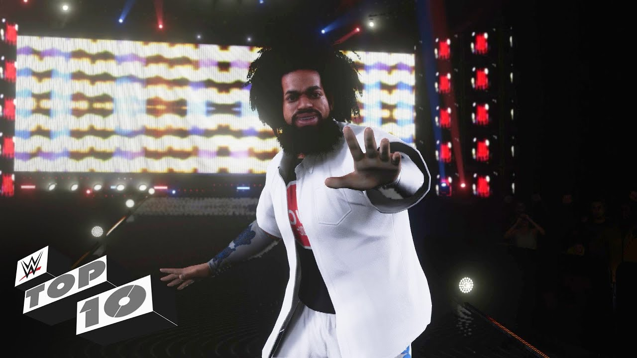 Playable character roster debuts: WWE 2K18 Top 10