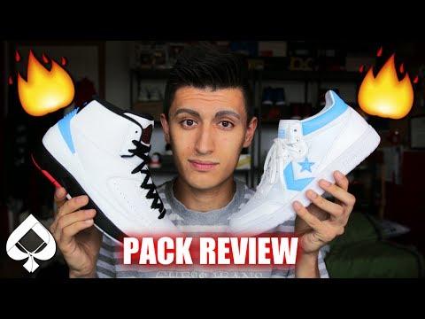 b71b6e612ad8b1 Air Jordan x Converse Pack REVIEW! - YouTube