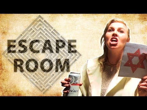 Thumbnail: Drunk Irish People Try An Escape Room