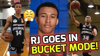 RJ Hampton Was In BULLY MODE! Drops A Light 20 POINTS In Australia! 🤮