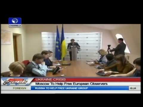 Ukraine Crisis: Russia To Push Release Of European Military Observers