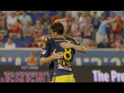 GOAL: Mike Grella chips from distance for the game winner vs. Benfica