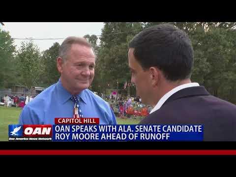 OAN Exclusive Interview with Alabama Senate Runoff Winner Judge Roy Moore