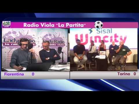 Radio Viola - La Partita - Fiorentina 3-0 Torino - 25/10/2017