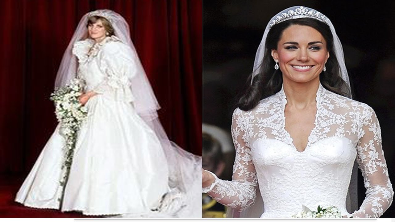 cfa8d88cfa155 اجمل فساتين زفاف المشاهير والأميرات فى العالم - YouTube