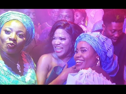 Toyin Aimakhu Steals the show as she gingers people as Kemi Afolabi to dance Shaku Shaku at OBA 2018