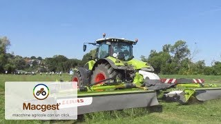 Claas press event: Fienagione