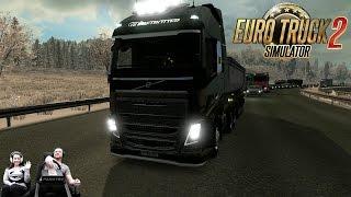 """Конвой в онлайне но без """"боли"""" :) Euro Truck Simulator 2 запись стрима"""