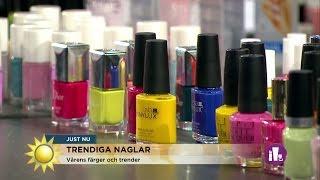 Nya nageltrenden – stämpla mönster - Nyhetsmorgon (TV4)