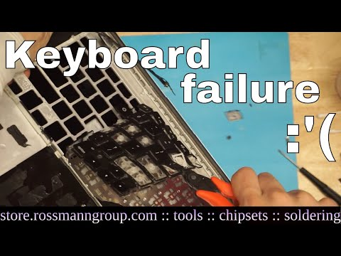 We need to talk about failing keyboards on these new Macbooks.