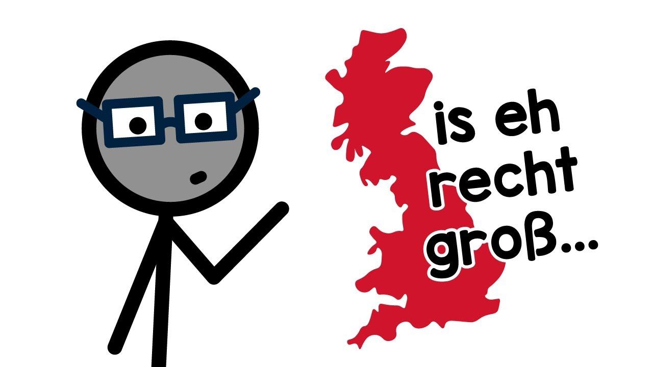 """Warum is es """"Groß""""-Britannien?"""