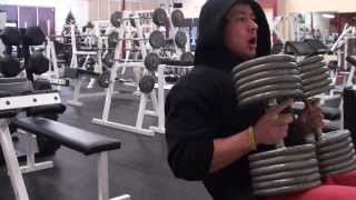 Decline Dumbbell Pressing the 120