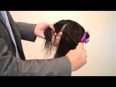 Как разделить волосы на зоны для покраски