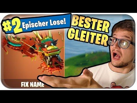 BESTER GLEITER 🐲 KÖNIGS DRACHEN FALLSCHIRM BRINGT EPISCHEN LOSE | Fortnite Skin Deutsch German