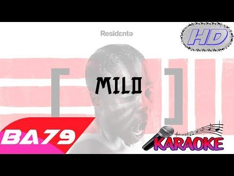 Residente - Milo - Video Karaoke Letra Instrumental