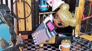 Пчелка опять все ПРОСПАЛА! Куклы лол Сюрприз мультики +распаковка