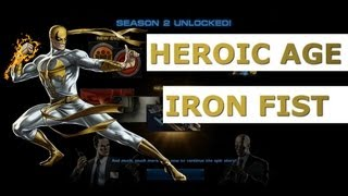 Marvel Avengers Alliance Season 2: Heroic Age Iron Fist