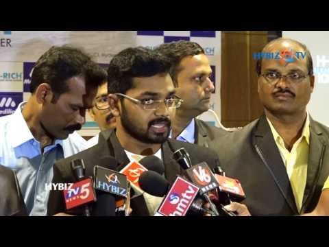 Srinivas Yadav Kandula Hydrogen Rich Alkaline Water Ionizer Machine Launch