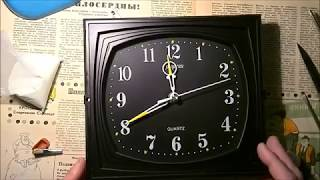 люминофорный циферблат за пять минут