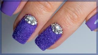 видео Фиолетовые ногти