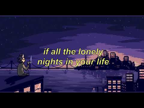 all the lonely nights in your life // cavetown + chloe moriondo cover (lyrics)