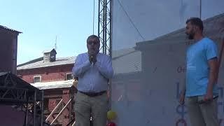 Начало(Инклюзивный фестиваль «Одухотворение»,Сад Эрмитаж,29.8.18)