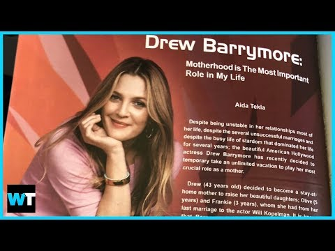 What's The Deal With This INSANE FAKE Drew Barrymore Interview?!