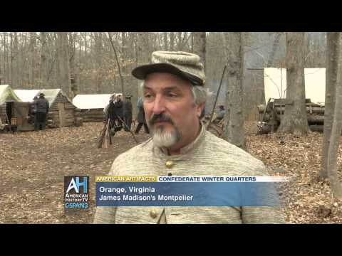 American Artifacts Extra: Confederate Winter Camp at Montpelier