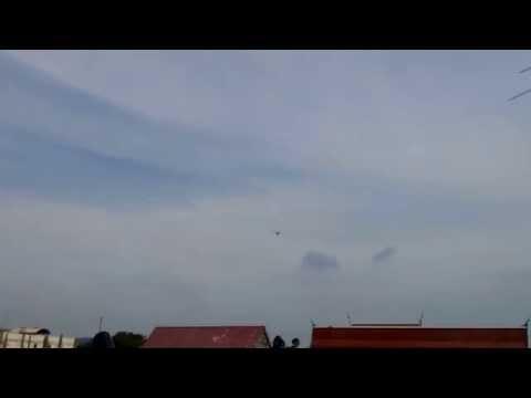 Cessna skymaster airplane in songkhla