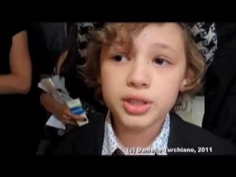 Maxim Knight  on the 'Falling Skies' premiere red carpet