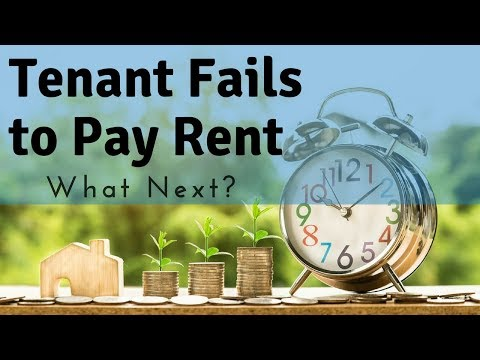 What You Should Do if Your Tenant Fails to Pay Rent | Glendale Property Management Education