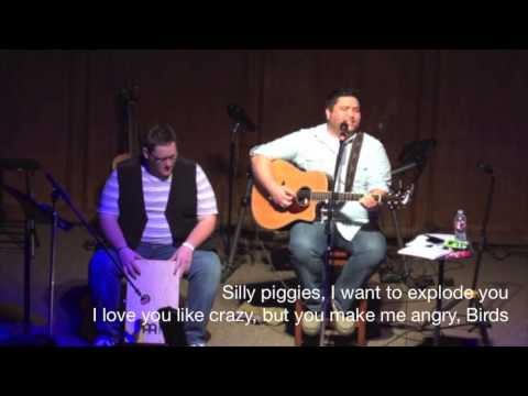Angry Birds (Parody of 'Crazy Girl' by Eli Young Band) - Micah Tyler