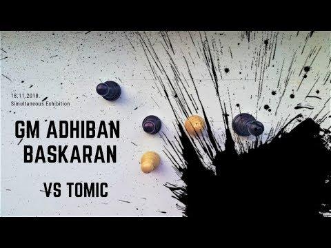 Destroyed by GM Adhiban Baskaran (in 17 moves)