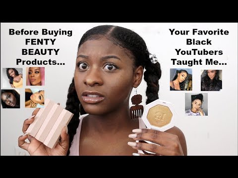 BEFORE BUYING FENTY BEAUTY BY RIHANNA, THIS IS WHAT I LEARNED FROM YOUR FAVORITE BLACK YOUTUBERS! thumbnail